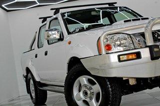 2014 Nissan Navara D22 Series 5 ST-R (4x4) White 5 Speed Manual Dual Cab Pick-up.