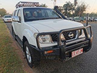 2009 Nissan Pathfinder R51 MY08 ST-L White 5 Speed Sports Automatic Wagon.