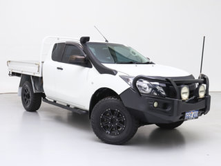 2016 Mazda BT-50 MY16 XT Hi-Rider (4x2) White 6 Speed Manual Freestyle Cab Chassis.