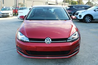 2016 Volkswagen Golf VII MY16 110TSI DSG Highline Red 7 Speed Sports Automatic Dual Clutch Hatchback.