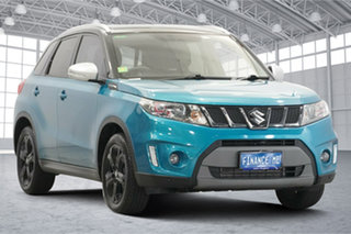 2018 Suzuki Vitara LY S Turbo 4WD Touquise 6 Speed Sports Automatic Wagon.