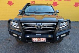2016 Toyota Landcruiser VDJ200R Sahara Grey 6 Speed Sports Automatic Wagon.
