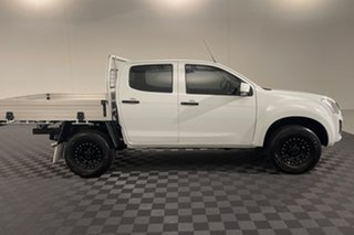 2017 Isuzu D-MAX MY17 SX Crew Cab White 6 speed Automatic Cab Chassis