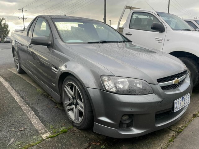 Used Holden Commodore VE II SV6 Traralgon, 2010 Holden Commodore VE II SV6 Grey 6 Speed Automatic Utility