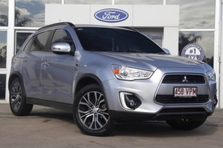 2015 Mitsubishi ASX XB MY15.5 LS 2WD Cool Silver 6 Speed Constant Variable Wagon.