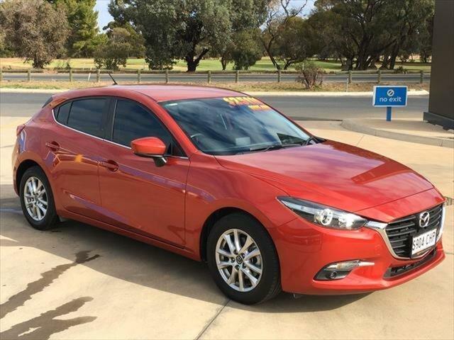 Used Mazda 3 BN5478 Touring SKYACTIV-Drive Berri, 2017 Mazda 3 BN5478 Touring SKYACTIV-Drive Soul Red 6 Speed Sports Automatic Hatchback