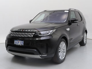 2018 Land Rover Discovery MY18 TD6 HSE (190kW) Black 8 Speed Automatic Wagon.