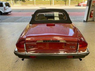 1989 Jaguar XJS V12 Red 3 Speed Automatic Convertible