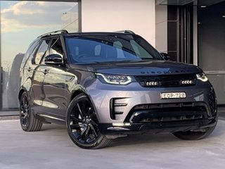 2018 Land Rover Discovery Series 5 L462 MY19 HSE Luxury Grey 8 Speed Sports Automatic Wagon.