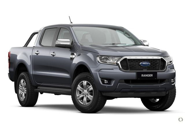 New Ford Ranger PX MkIII 2021.25MY XLT Oakleigh, 2021 Ford Ranger PX MkIII 2021.25MY XLT Grey 6 Speed Sports Automatic Double Cab Pick Up