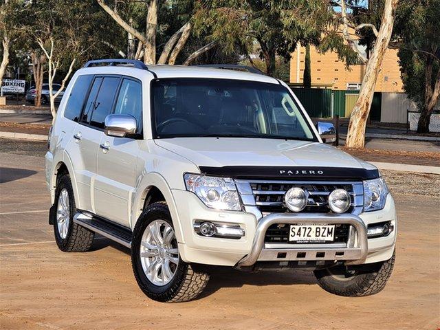 Used Mitsubishi Pajero NX MY19 GLS St Marys, 2019 Mitsubishi Pajero NX MY19 GLS White 5 Speed Sports Automatic Wagon