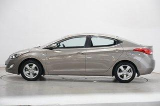 2013 Hyundai Elantra MD2 Elite Bronze 6 Speed Manual Sedan.