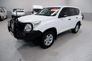 2015 Toyota Landcruiser Prado GDJ150R GX White 6 Speed Manual Wagon.