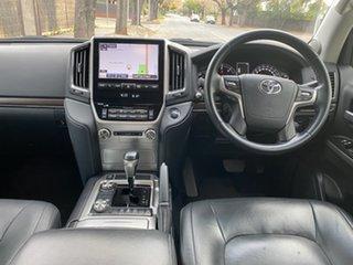 2018 Toyota Landcruiser VDJ200R VX White 6 Speed Sports Automatic Wagon