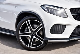 2018 Mercedes-Benz GLE-Class C292 MY808+058 GLE43 AMG Coupe 9G-Tronic 4MATIC Polar White 9 Speed
