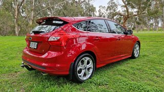 2014 Ford Focus LW MkII Sport PwrShift Candy Red 6 Speed Sports Automatic Dual Clutch Hatchback