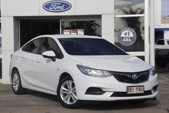 Used Holden Astra BL MY18 LS Beaudesert, 2018 Holden Astra BL MY18 LS White 6 Speed Sports Automatic Sedan