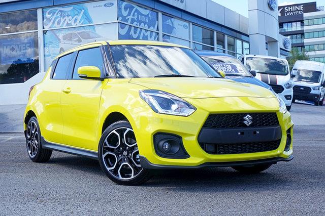 New Suzuki Swift AZ Series II Sport Springwood, 2021 Suzuki Swift AZ Series II Sport Yellow 6 Speed Sports Automatic Hatchback