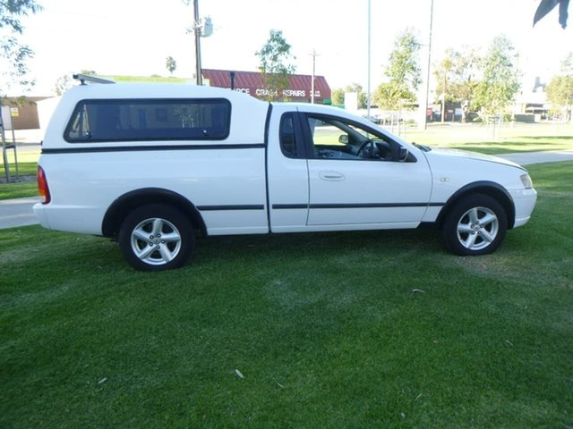 Used Ford Falcon BF RTV Beverley, 2006 Ford Falcon BF RTV White Automatic Utility