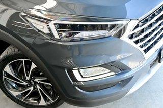 2018 Hyundai Tucson TL3 MY19 Highlander D-CT AWD Blue 7 Speed Sports Automatic Dual Clutch Wagon.