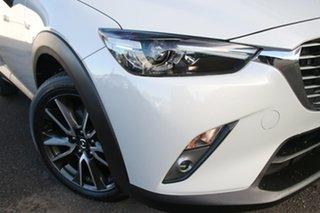 2015 Mazda CX-3 DK4W7A sTouring SKYACTIV-Drive i-ACTIV AWD Grey 6 Speed Sports Automatic Wagon.