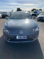 2011 Volkswagen Passat Type 3C MY12 118TSI DSG Grey 7 Speed Sports Automatic Dual Clutch Wagon.