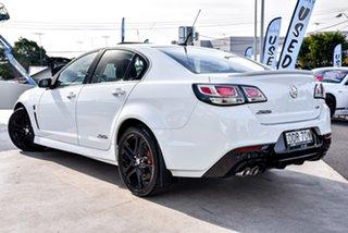 2016 Holden Commodore VF II MY16 SS V Redline White 6 Speed Manual Sedan.