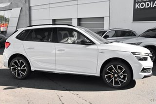 2021 Skoda Kamiq NW MY21 110TSI DSG FWD Monte Carlo White 7 Speed Sports Automatic Dual Clutch Wagon