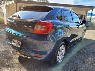2016 Suzuki Baleno EW GL Blue 4 Speed Automatic Hatchback.