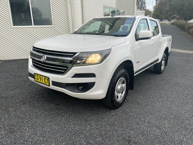 Used Holden Colorado RG MY18 LS Pickup Crew Cab Maitland, 2017 Holden Colorado RG MY18 LS Pickup Crew Cab White 6 Speed Sports Automatic Utility