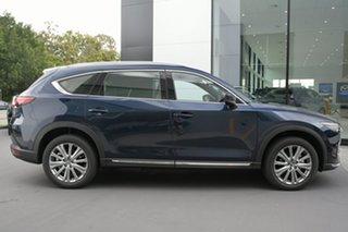 2021 Mazda CX-8 KG4W2A Asaki SKYACTIV-Drive i-ACTIV AWD LE Deep Crystal Blue 6 Speed.