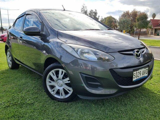Used Mazda 2 DE10Y2 MY13 Neo Hindmarsh, 2013 Mazda 2 DE10Y2 MY13 Neo Grey 4 Speed Automatic Hatchback