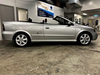 2004 Holden Astra TS MY03 Metallic Silver 4 Speed Automatic Convertible.