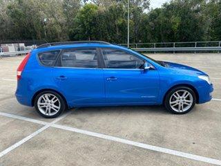 2009 Hyundai i30 FD MY09 CW Sportswagon 2.0 Blue 4 Speed Automatic Wagon.