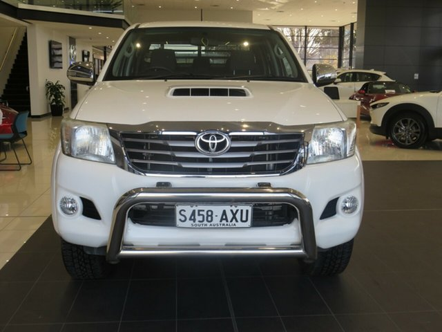 Used Toyota Hilux KUN26R MY12 SR5 Double Cab Edwardstown, 2013 Toyota Hilux SR5 Double Cab Utility