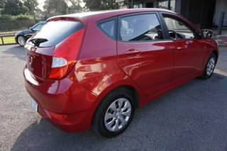 2017 Hyundai Accent RB4 MY17 Active Pulse Red 6 Speed Constant Variable Hatchback