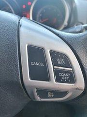 2009 Mitsubishi Lancer CJ MY09 ES Blue 6 Speed CVT Auto Sequential Sedan