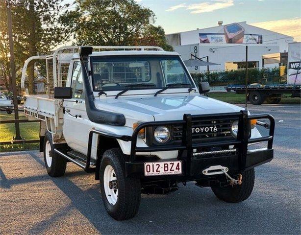 Used Toyota Landcruiser HZJ75RP (4x4) Archerfield, 1994 Toyota Landcruiser HZJ75RP (4x4) White 5 Speed Manual Utility
