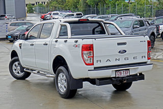 2014 Ford Ranger PX XLS Double Cab Cool White 6 Speed Sports Automatic Utility.