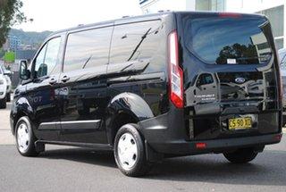 2018 Ford Transit Custom VN 2018.5MY 300S (Low Roof) Black 6 Speed Manual Van.