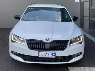 2019 Skoda Superb NP MY19 206TSI DSG SportLine White 6 Speed Sports Automatic Dual Clutch Wagon.