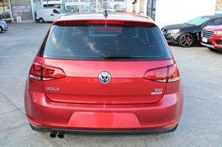 2016 Volkswagen Golf VII MY16 110TSI DSG Highline Red 7 Speed Sports Automatic Dual Clutch Hatchback