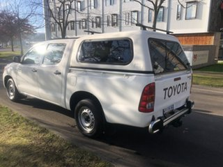 2008 Toyota Hilux GGN15R MY08 SR 4x2 White 5 Speed Automatic Utility