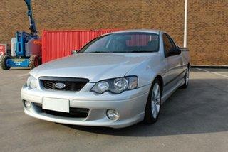 2007 Ford Falcon BF MkII XR6 Silver 4 Speed Auto Seq Sportshift Utility