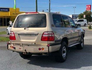 2003 Toyota Landcruiser UZJ100R GXL Gold 5 Speed Automatic Wagon