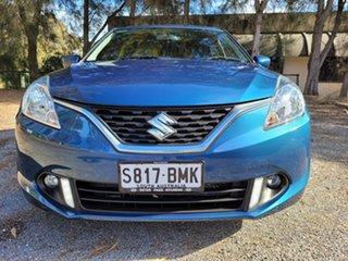 2016 Suzuki Baleno EW GL Blue 4 Speed Automatic Hatchback