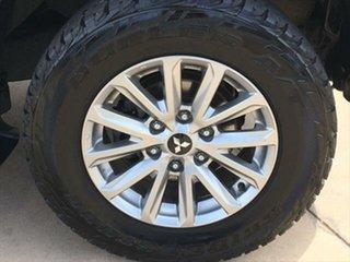 2017 Mitsubishi Triton MQ MY18 GLS Double Cab Black 5 Speed Sports Automatic Utility