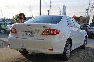2010 Toyota Corolla ZRE152R MY11 Ascent White 4 Speed Automatic Sedan