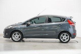 2011 Ford Fiesta WT Zetec PwrShift Grey 6 Speed Sports Automatic Dual Clutch Hatchback.