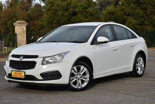 2015 Holden Cruze JH Series II MY15 Equipe White 6 Speed Sports Automatic Sedan.